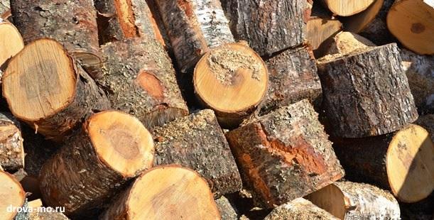 дрова чурбаками в Талдоме