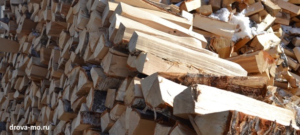 сухие березовые дрова