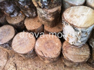 дрова чурбаками