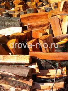 колотые дрова Запрудня