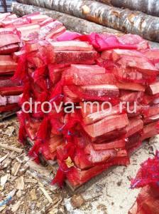 Вербилки дрова в сетках