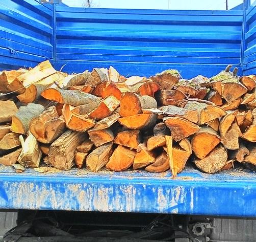 сухие дрова от компании Дрова-МО