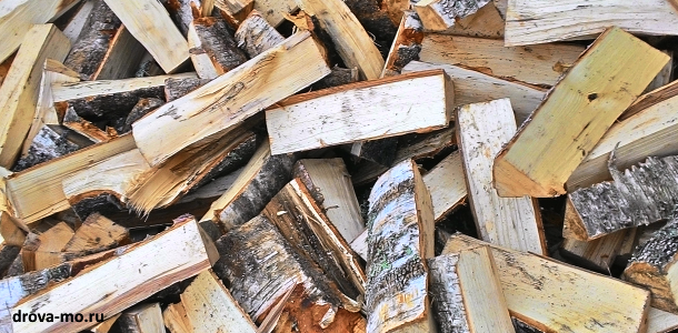 дрова колотые с доставкой