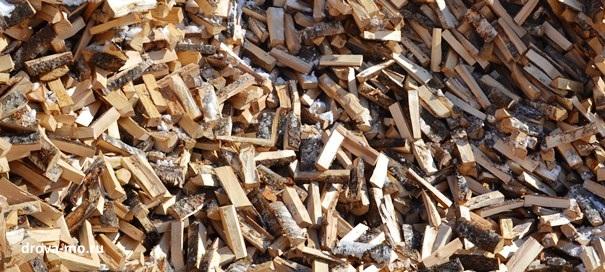 дрова березовые колотые недорого