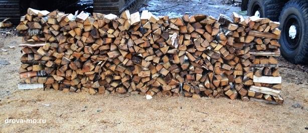 измерить дрова уложенные в ряды